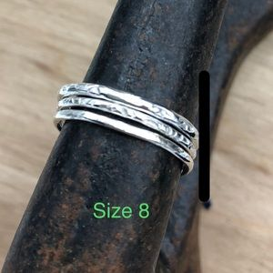 CBL Jewelry - 2 sets left! Boho Silver (925) Stacking Rings!
